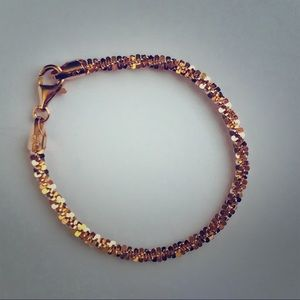 Milor Italy 925 Gold Plated Bracelet